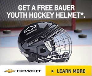 GM - Chevrolet Free Hockey Helmet Program